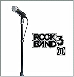 Mad Catz Nintendo Wii Official Universal Rock Band Microphone Stand