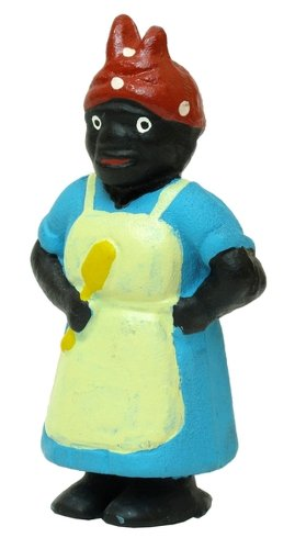 Best Quality- Cast Iron Black Lady Penny Bank - 1