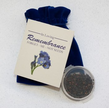 Forget-Me-Not Memorial Seed Packets (Set of 50)