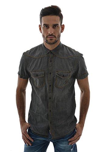 Camicia a maniche corte tom tailor 2019574,00.12, colore: grigio grigio Small