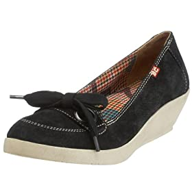 BC Footwear Women's Make It A Double Wedge Moc - Free Overnight Shipping & Return Shipping: Endless.com :  wedge black moccasin endless
