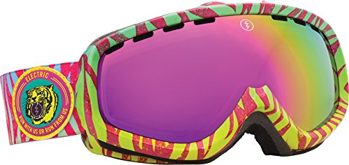 Electric Egk Snow Goggle, Neon Zebra, Bronze/Pink Chrome