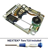 Neuf Sony PS3 Bloc Optique Lentille Laser Plateforme Chariot KES 400A KES 400AAA KEM 400A KEM 400AAA Tournevis Nextek® Torx T10 Security