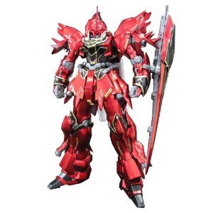 Gundam MSN-06S Sinanju Ver Ka Titanium Finish MG 1/100 Scale