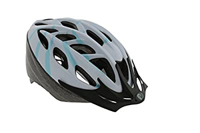 Falcon Women's Inmold Bike Helmet - White/Blue, 58-62 cm from Falcon