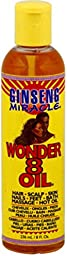 Ginseng Miracle Wonder 8 Oil, 8 oz (Pack of 5)