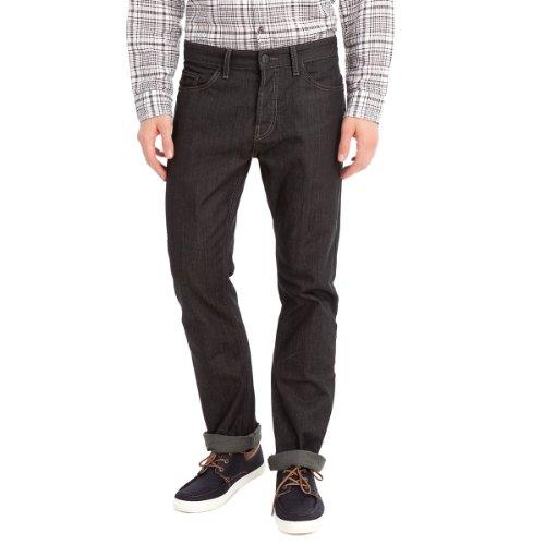 Springfield Men's Ghost Dark Resin Wash Five Pocket Jeans, 38, navy