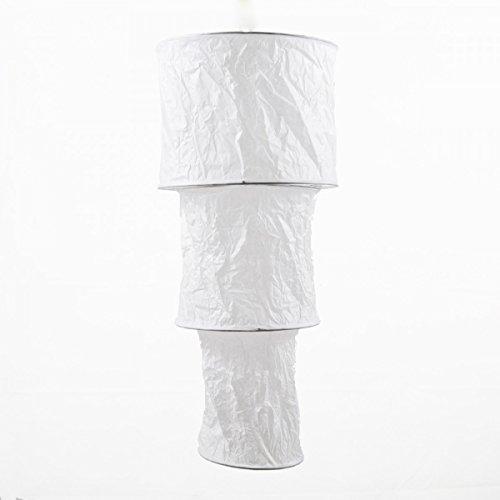 lampada di carta bianca 25x54cm 3Stufen luce carta di riso paralume di carta lanterna