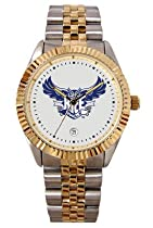 Rice University Owls Mens Executive Stainless Steel Watch