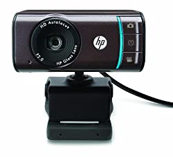 HP Webcam HD-3110 - 720P Autofocus Widescreen Webcam with TrueVision