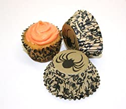 Martha Stewart Spider Crow Mini Cupcake Wrappers