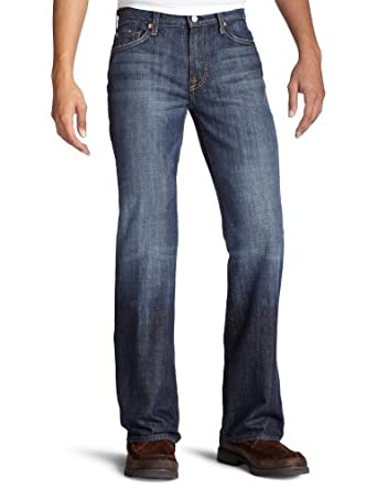 (超值)7 For All Mankind Classic Bootcut Jean 男式经典裁剪牛仔裤 折后$70.96