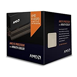 AMD FX 8370 4.0GHZ (4.3 GHZ MAX TURBO ) WITH WRAITH COOLER