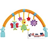 Taf Toys Musical Arch 'n Touch for Baby Stroller, Pram, Carriage (Musical Arch 'n Touch)