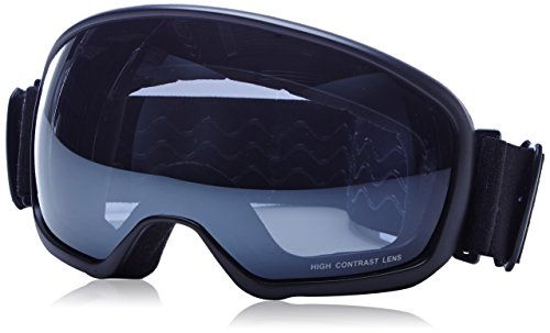 Brunotti Skibrille Halta 1 Goggle, Black, One size, 142158001