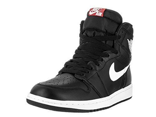 Nike Jordan Men's Air Jordan 1 Retro High OG Black/White/Black Basketball Shoe 8 Men US (Air Jordans 8 compare prices)
