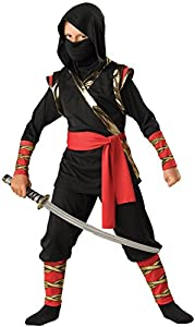 Ninja Child Costume - Size Medium (3T-4T)
