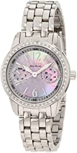Citizen Women's FD1030-56Y Swarovski Crystal-Accented Stainless Steel