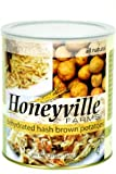 Dehydrated Hash Brown Potatoes - 1.25 Pound can