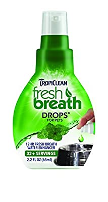 Tropiclean Fresh Breath drops Made in USA