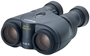 Canon 8x25 Image Stabilization Binoculars w Case and Neck Strap by Canon
