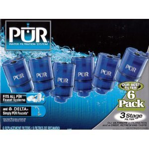 Lowest Price! PUR 3 Stage Filters (6 Pack)