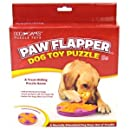 Kyjen 2405 Paw Flapper Treat Toy Dog Toys Scent Puzzle Training Toy, Large, Purple
