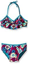 Roxy Baby-Girls Floral Double Flutter…