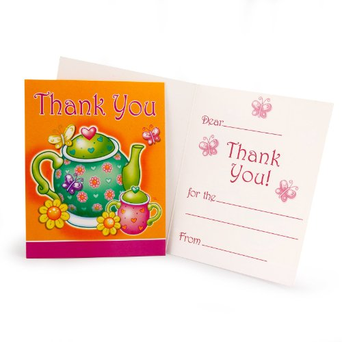 Tea for You Thank You Cards (8 count)
