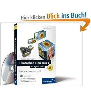 eBook Cover für  Photoshop Elements 6 f uuml r digitale Fotos Schritt f uuml r Schritt zum perfekten Foto Galileo Design