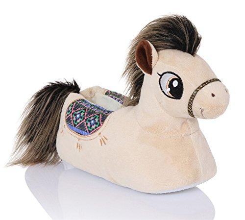 snuggles-clothing-para-mujer-comodas-novedad-3d-animal-pantuflas-pony-polly-355-37-eu-s