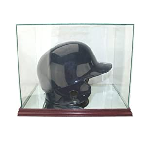 Engraved Baseball Helmet Display Case