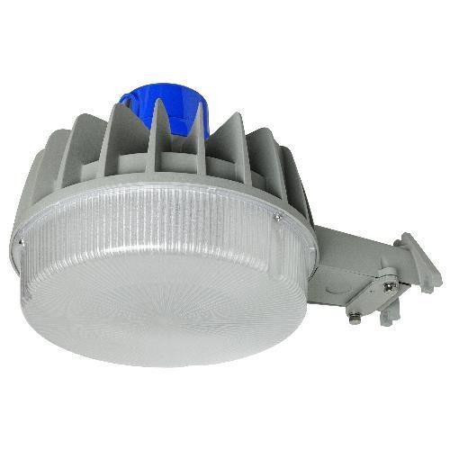 Sunlite LFX/RL/50W/PC/W 49100 50-watt 100-277-volt LED Photo Sensor Roadway Light Fixture, Gray Finish