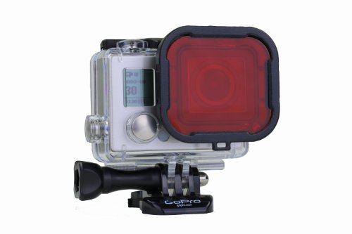 PolarPro Red Filter Standard Housing Scuba Accessory for GoPro Hero4 and Hero3+