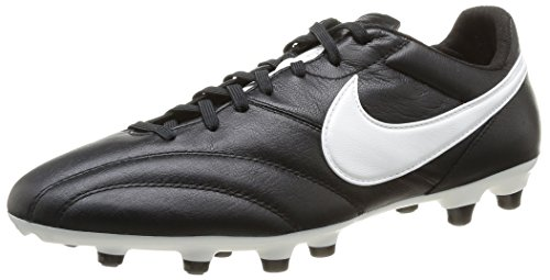 Nike The Premier Scarpe da Calcio Unisex Adulto, Nero (Black/Summit White/Orange Blaze), 42.5 EU