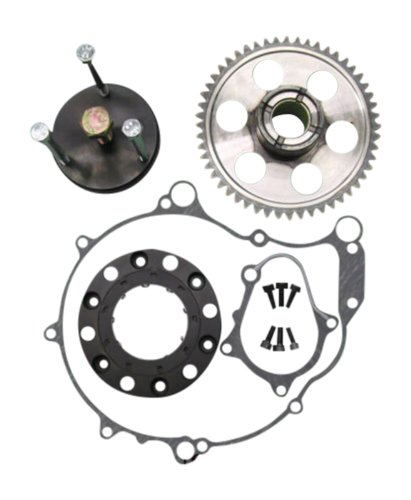 RaptorOneWay k2p-01-03 -L&L Extreme Raptor 660 One Way Starter Clutch bearing with gaskets, bolts, puller and 52 Tooth Gear (Raptor 660 Starter compare prices)