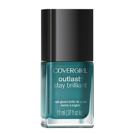 Covergirl-Outlast-Stay-Brilliant-Nail-Gloss-290-Constant-Caribbean-037-Oz-Pack-of-2