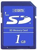 I-O DATA機器 エントリーモデルSDメモリーカード 1GB SD-1G