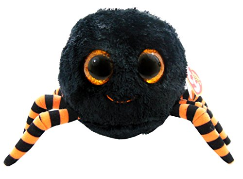 Ty Beanie Boos Crawly Black And Orange Spider front-824113
