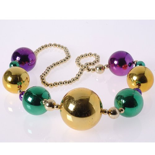 Mardi Gras Ball Necklaces