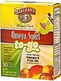 Barlean's Organic Oils - Omega Swirl To-Go Mango Peach 30pkt