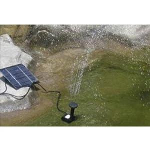 fontaine pompe a eau panneau solaire pour bassin jardin bricolage. Black Bedroom Furniture Sets. Home Design Ideas