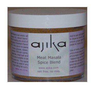 Ajika Meat Curry Spices, All Purpose Indian Spice Blend