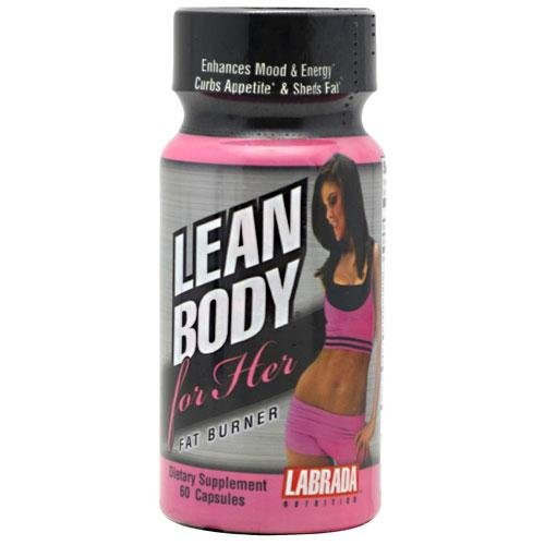 Labrada Nutrition Lean Body For Her Fat Burner Capsules, 60 Count