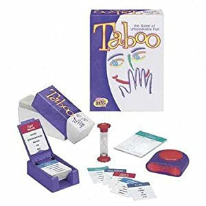 Taboo board game!
