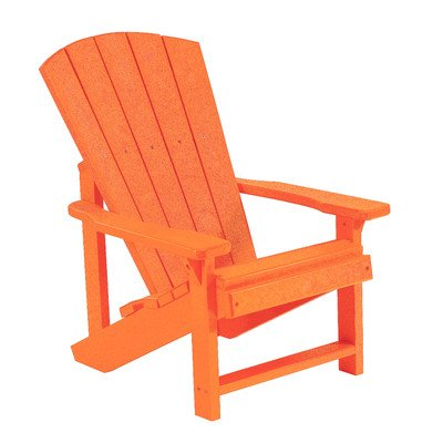 Generations Kids Adirondack Chair Color: Orange