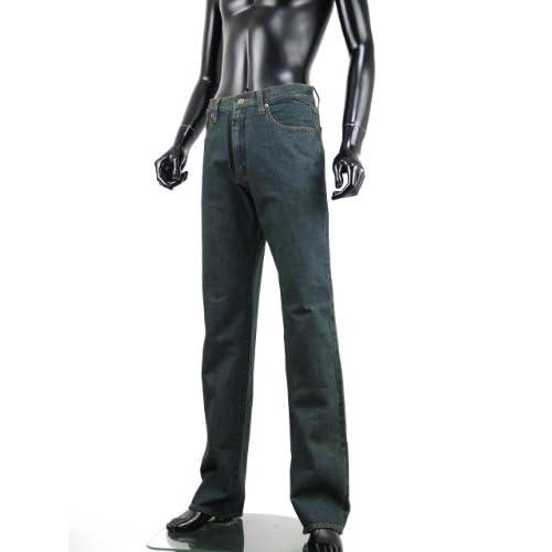 Hanes ヘインズ ジーンズ ベーシック メンズ デニム パンツ ストレート 大きいサイズあり P260311-01 オーバーダイ(02) 88