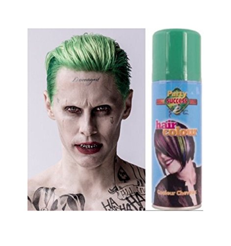 [Joker Hairspray DC Comics Adult Mens Green Super Villain Halloween Costume Acsry] (Female Centaur Costume)