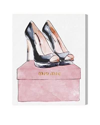 "Oliver Gal ""Leave Your Shoes On"" Canvas Art"