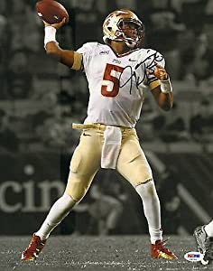 JAMEIS WINSTON SIGNED FLORIDA STATE SEMINOLES 11x14 PHOTO PSA DNA #V37701